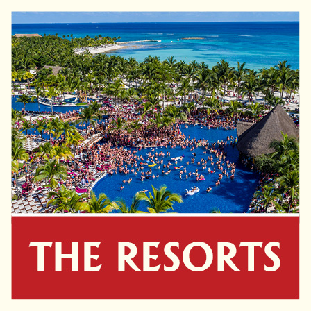 The Resorts - Birds Eye View Riviera Maya