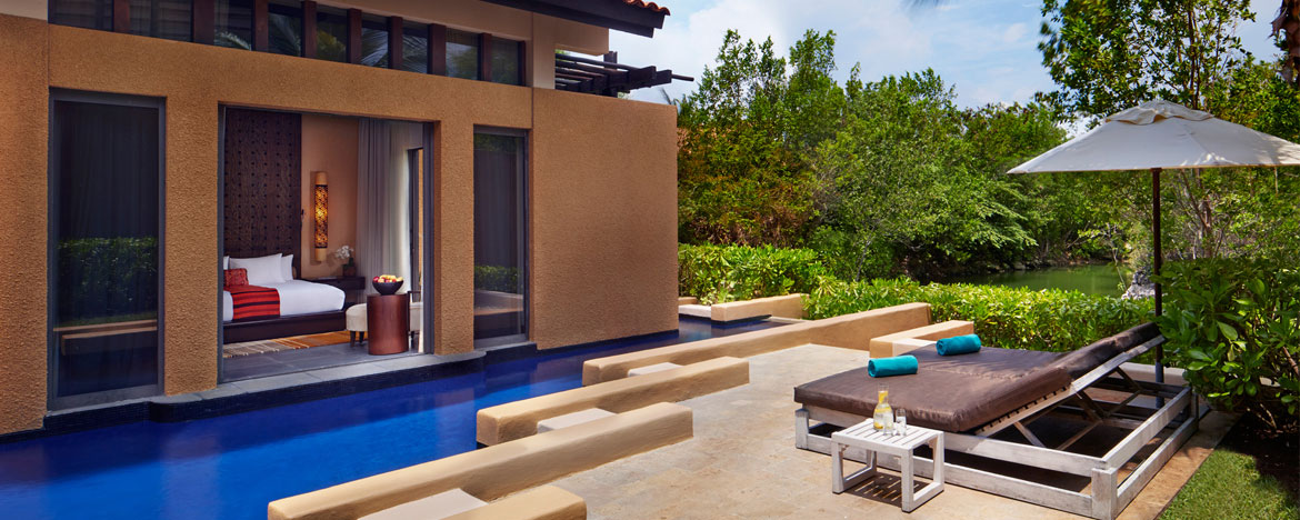 Banyan Tree Mayakoba Luxury Resort Bliss Pool Villa