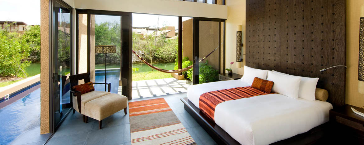 Banyan Tree Mayakoba Luxury Resort Serenity Pool Villa